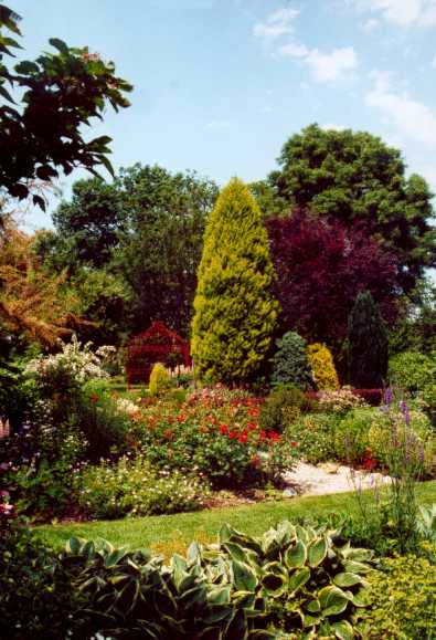 Jardins for Beaumont le hareng jardin de bellevue